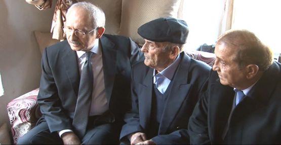 Kılıçdaroğlu o madenci babasını ziyaret etti
