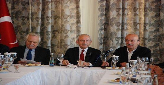 Kılıçdaroğlu STK temsilcileriyle görüştü