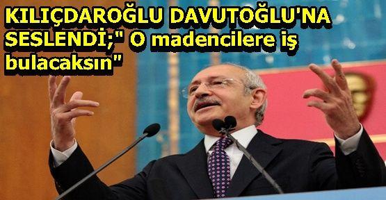 Kılıçdaroğlu'ndan Davutoğlu'na Sesleniş