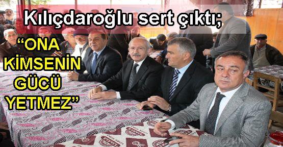 Kılıçdaroğlu'yla kahvede