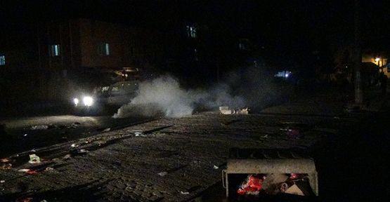 Kobani'yi bahane eden gruba polis müdahalesi