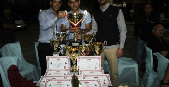 Manisa'da Posta Güvercinleri Yarışması Düzenlendi