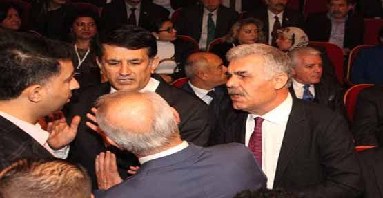 MHP İlçe Kongresinde Gergin Dakikalar Yaşandı!