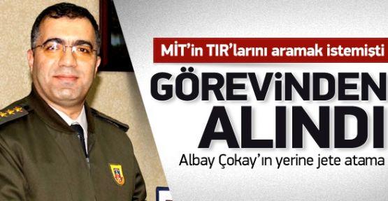 MİT'in TIR'larını Durduran Albay Görevden Alındı