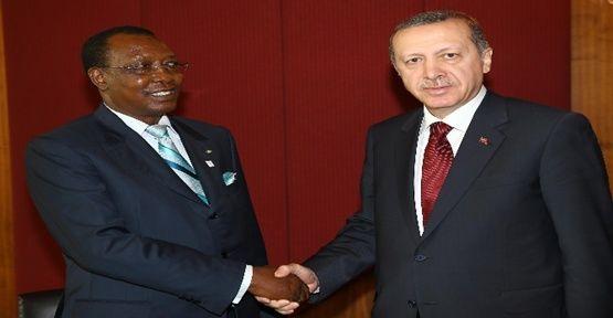 Nijer ve Çad Cumhurbaşkanlarıyla görüştü