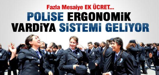 POLİS İÇİN 'ERGONOMİK VARDİYA SİSTEMİ'