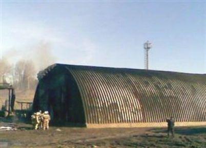 Rusya'da Fabrika Yangını: 8 Ölü