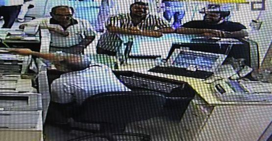 Sahte komiser kameraya yakalandı (video)
