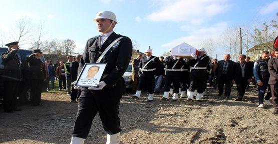 Şehit polis sonsuzluğa uğurlandı