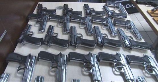 Silah kaçakçılarına ağır darbe