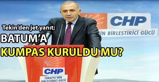 Süheyl Batum'un iddiası Gürsel Tekin'e soruldu