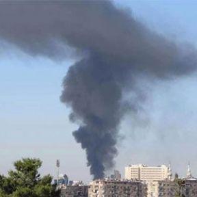 Suriye'de Genelkurmay Binasına Saldırı