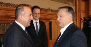 Bakan Çavuşoğlu, Macaristan Başbakanı...