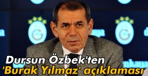 Dursun Özbek'ten...