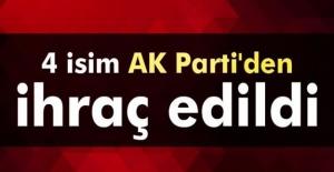 AK Partili 4 belediye başkanı partiden...
