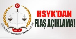 HSYK#039;dan Flaş Açıklama!