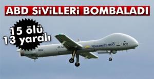 ABD Sivilleri Bombaladı