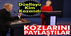 Clinton ve Trump, televizyon düellosunda...