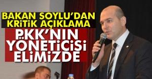 Bakan Soylu'dan Kritik Açıklama: PKK'nın Yöneticisi Elimizde