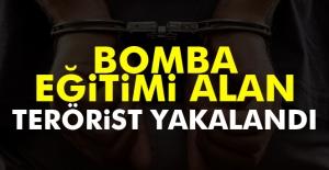 Bomba Eğitimi Alan Terörist Yakalandı
