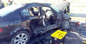 Denizli'de zincirleme kaza: 1 ölü, 5 yaralı