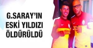 Galatasaraylı eski futbolcu silahlı...