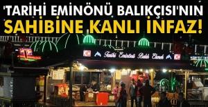 İstanbul#039;da Kanlı İnfaz!