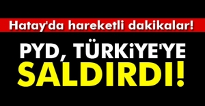 PYD, Afrin#039;den Türkiye tarafına...
