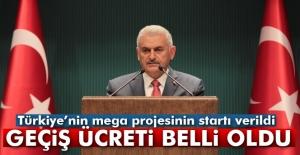 Türkiye#039;nin mega projesinin startı...