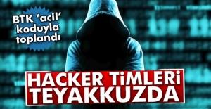Türkiyede hacker timleri teyakkuzda