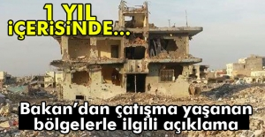 Bakan Özhaseki: '1 sene içinde evi yıkılmış herkese...'