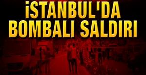 İstanbul#039;da Bombalı Saldırı!