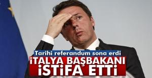 İtalyadaki referandum sona erdi!...