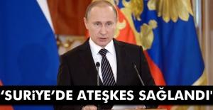 'Suriye'de ateşkes...