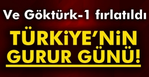 Türkiye'nin gurur günü: Göktürk-1 fırlatıldı