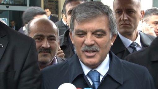 """Abdullah Gül'den """"MGK ve Peşmerge"""" yorumu"""