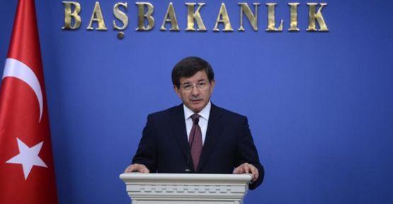 Başbakan Davutoğlu'ndan 'tezkere' açıklaması