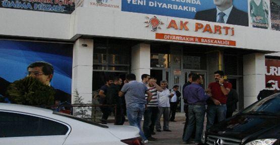 AK Parti İl Başkanlığına Saldırı