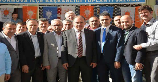 AK Parti İzmir'de Delege Seçimi Mesaisi...