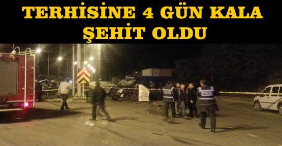 Askeri Araç Kaza Yaptı:1 Şehit, 5 Yaralı