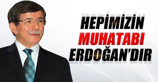Başbakan Davutoğlu 'Erdoğan' Çıkışı