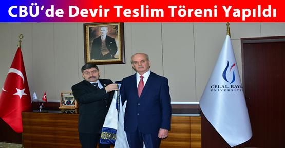 CBÜ'de Rektörlük Devir Teslim Töreni...