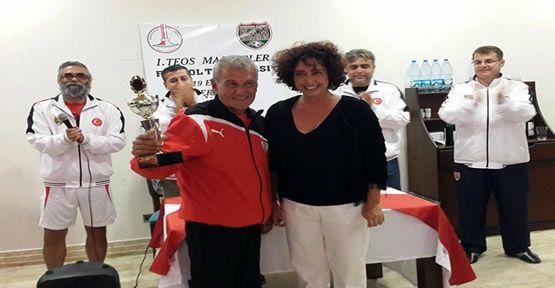 Foça Belediyespor, 1. Teos Masterler Futbol...