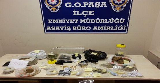 GOP'un uyuşturucu baronu yakalandı