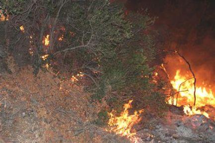Urla Yarımadasında Yangınlı Gece