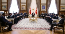 Cumhurbaşkanı Erdoğan 12 Dev Adam'ı Kabul Etti
