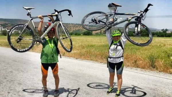 Bisikletle 6 Ayda 6 Bin Kilometre