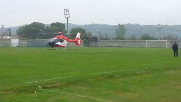 Maç Sırasında Sahaya Helikopter İnerse !