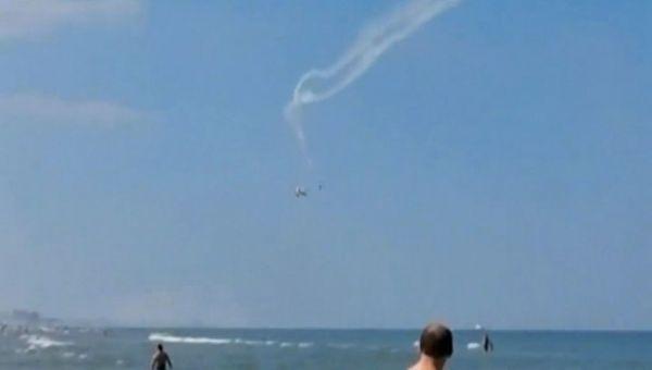 Uçaklar Havada Çarpıştı
