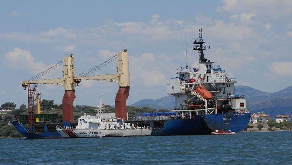 Libya Açıklarında Vurulan Gemi İlk Kez Görüntülendi